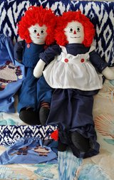 Hand Made Raggedy Ann and Andy Dolls in St. Charles, Illinois