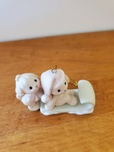 Precious Moments Puppies on Sled Ornament in Joliet, Illinois