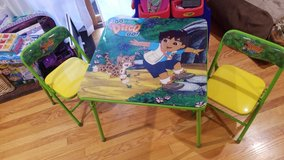 Go Diego Table and X2 chairs in Bolingbrook, Illinois