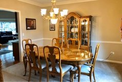 Dining Room Set with China Cabinet in Bolingbrook, Illinois