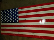 American flag coffee table in Naperville, Illinois