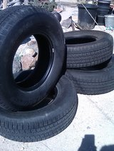 4 st225/75R15 trailer tires in 29 Palms, California
