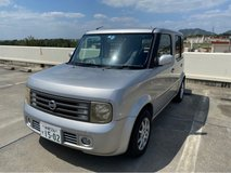 2004 Nissan Cube JCI good until Nov 2021 in Okinawa, Japan