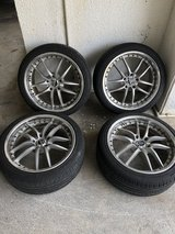 18 inch PIAA Rozza wheels in Okinawa, Japan