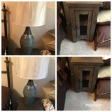 2 nightstands with lamps in Conroe, Texas
