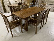 New Dining table set in Okinawa, Japan