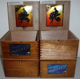 4 Drew Estate Acid Kuba Kuba Wood Cigar Boxes in Chicago, Illinois