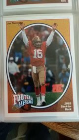 Joe Montana football heroes upper Deck 9 1991 in Yucca Valley, California