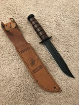 "Ka-Bar knife, like new, 7"" blade in Camp Lejeune, North Carolina"