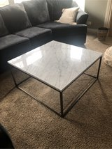marble table top coffee table in Naperville, Illinois