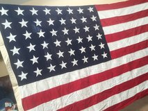 Vintage 48-Star American Flag in Westmont, Illinois