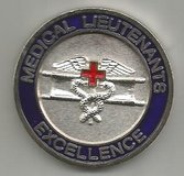 Medical Lieutenant Challenge Coin in Grafenwoehr, GE