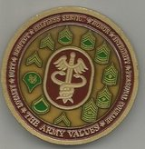 BAMC Enlisted Challenge Coin in Grafenwoehr, GE