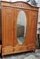 Early 1900s Tall Country Style Closet Perfect for Entryways or Bedrooms in Ramstein, Germany