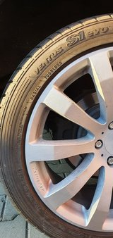 Tomason alu rims with Hankook Vento S1 summer tyres 245/45/ZR 19 inch for Honda in Ramstein, Germany