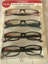 4 New Pairs of Women's Reading Glasses 3.00 in Plainfield, Illinois