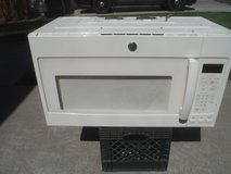 GE over the range microwave.. Great shape!!!!!! Have all the mounting hardware... in Fairfield, California