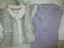 Men's Express and Guess button down shirts in Naperville, Illinois