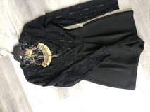 NEW Black Romper with new jewelry in Baytown, Texas