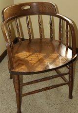 Railway Chair - solid oak in St. Charles, Illinois