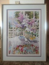 """Lilac & Lace"" framed print - large in Yucca Valley, California"