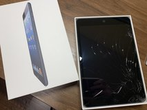 iPad Mini Wi-Fi 16 GB Black with cracked screen in Kingwood, Texas