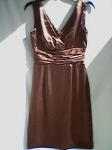 Eliza J New York Formal Bronze Halter Dress in Columbus, Georgia