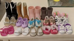 Doll shoes 15 pairs in Plainfield, Illinois