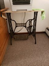 Vintage Cast Iron Singer Base in Chicago, Illinois