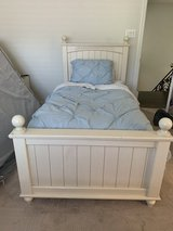 Girls Wooden Twin Bed Frame in Kingwood, Texas