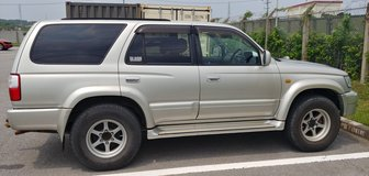 Hilux surf 3rd generation 2001 in Okinawa, Japan