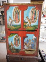 Vintage Rustic Guadalupe Cabinet in Alamogordo, New Mexico