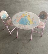 Princess table and chairs in Clarksville, Tennessee