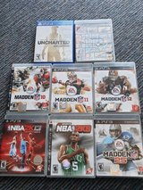 PS3 Titles/ Uncharted Collection PS4 in Ramstein, Germany