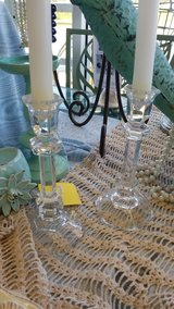 Full Lead Crystal Candlesticks by Towle #2287-66 in Camp Lejeune, North Carolina