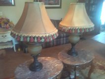 2 matching lamps in Fort Polk, Louisiana