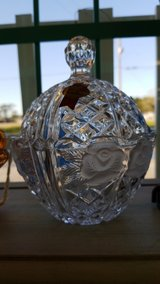 Crystal Candy Bowl with Lid #2495-24 in Camp Lejeune, North Carolina