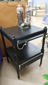 Black Painted Wood Table #618-2743 in Camp Lejeune, North Carolina