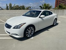 INFINITI G37 coupe in Camp Pendleton, California