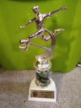Soccer trophy in Batavia, Illinois