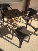 patio table + 4 chairs in Ramstein, Germany