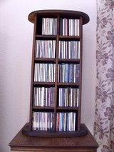 CD holder, all wood in Ramstein, Germany