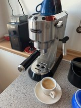 DeLonghi Espresso Maker and Grinder in Ramstein, Germany