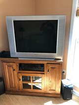 "Color TV,  36 "" with stand in Camp Lejeune, North Carolina"