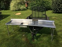 10 ft x 2 ft Eagle Stainless Steel table in Byron, Georgia