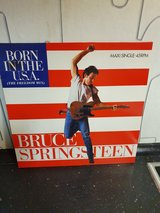 Bruce Springsteen Born in the USA Maxi-Single 45 RPM in Ramstein, Germany