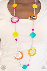 fun colorful necklace set in Bellaire, Texas
