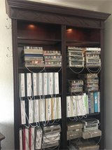 Cherry Wood Display Bookcase in Camp Pendleton, California