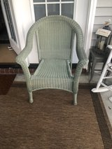 resin Wicker Chair in Beaufort, South Carolina