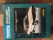 Toyota 1983-92 Chiltons Camry repair manual in Chicago, Illinois